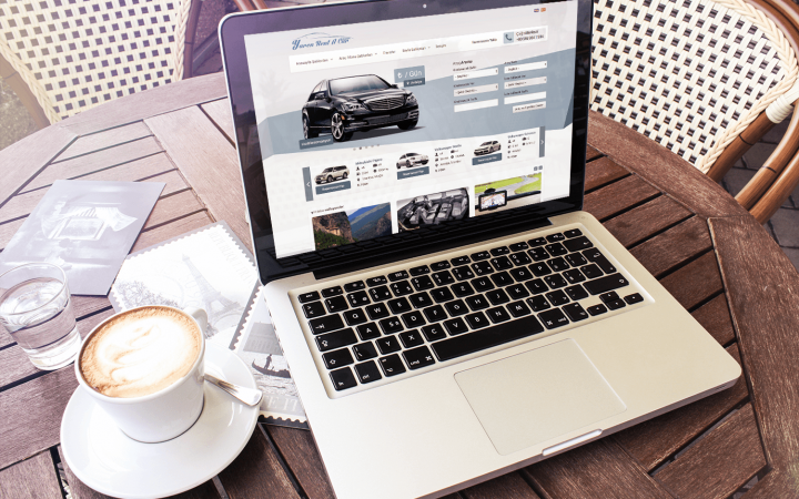wordpress rent a car teması v2